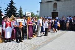 XIV Dożynki Powiatu Stalowowolskiego w Pysznicy