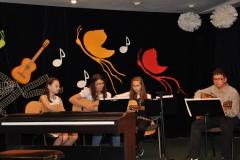 Koncert uczniów Ogniska Muzycznego - 14.06.2013r.