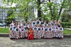"""Zespół Pieśni i Tańca """"Pyszniczanie"""" - sesja zdjęciowa w Przeworsku"""