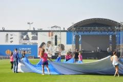 """Prezentacja Zespołu Tanecznego """"KIK"""" - otwarcie stadionu - 10.09.2016r."""